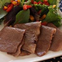仙台牛のサッと焼きサラダ