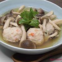 簡単おいしい鶏だんごとしめじのスープ【ヤマキだし部】