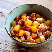 ♡15分de味染み抜群♡大根と鶏肉のスピード煮♡【#時短#簡単#煮物】