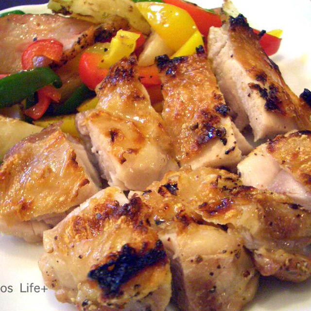 チキンと野菜のグリル焼き