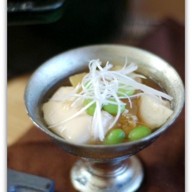 今が旬!冬瓜と枝豆の豆腐煮