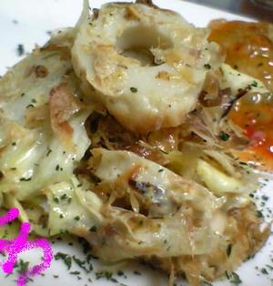 柚子胡椒パンチ!キャベツとちくわのマヨポンサラダ