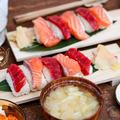 100均グッズで作る!4歳娘が作ったお寿司ディナーと手作りガリ♡と今日のお弁当と朝ごはん