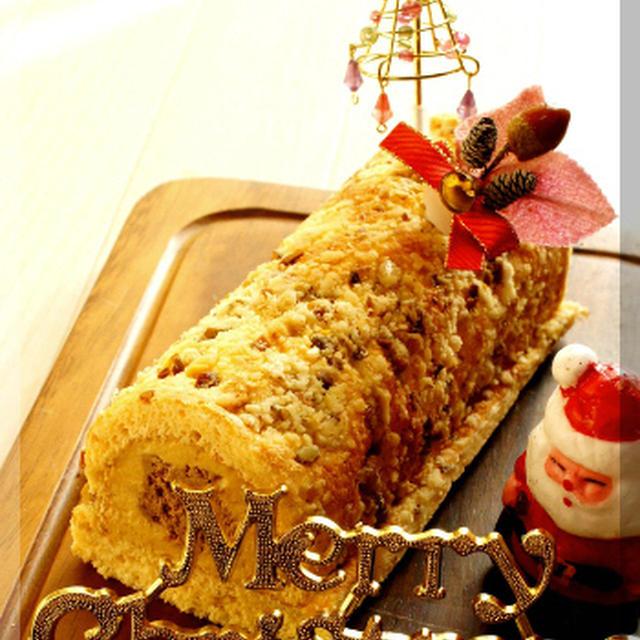 * クリスマスケーキ ★ 100人のブッシュドノエルコンテスト♪