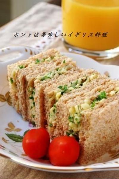 チーズ&オニオンサンドイッチ