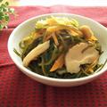 干し椎茸と切り昆布の煮物