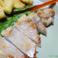 豚ロース肉のソテー♪シンプル塩味にハマる
