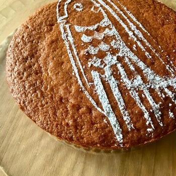 Torta di Amabie アマビエケーキ