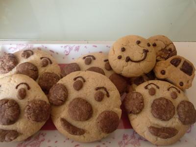 子供と一緒に手作り♪簡単・アンパンマンクッキー