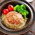 ♡おろしあんかけ豆腐ハンバーグ♡【ヘルシー#簡単レシピ#時短#節約#大根】