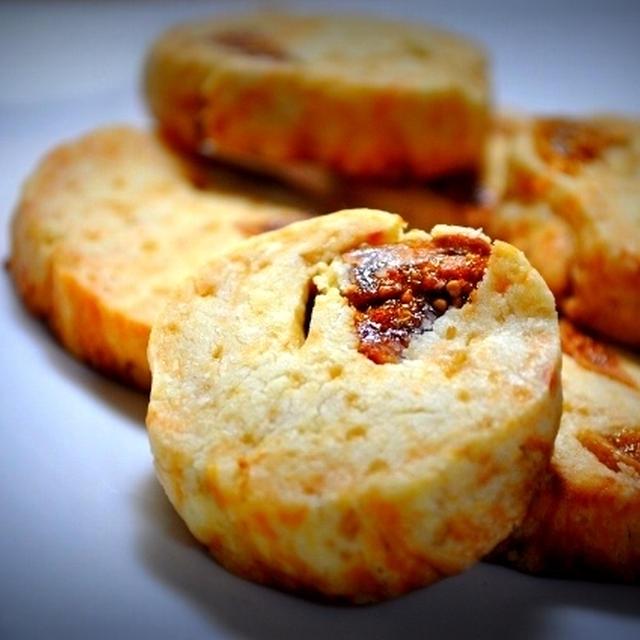 ◎おつまみチーズと白いちじくクッキー◎