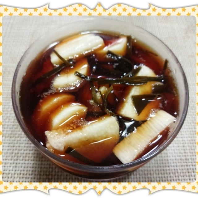 長芋のシャキシャキお漬物(レシピ付)