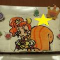 姫8歳の誕生日~「プリキュアチョコケーキ」でお祝い♪