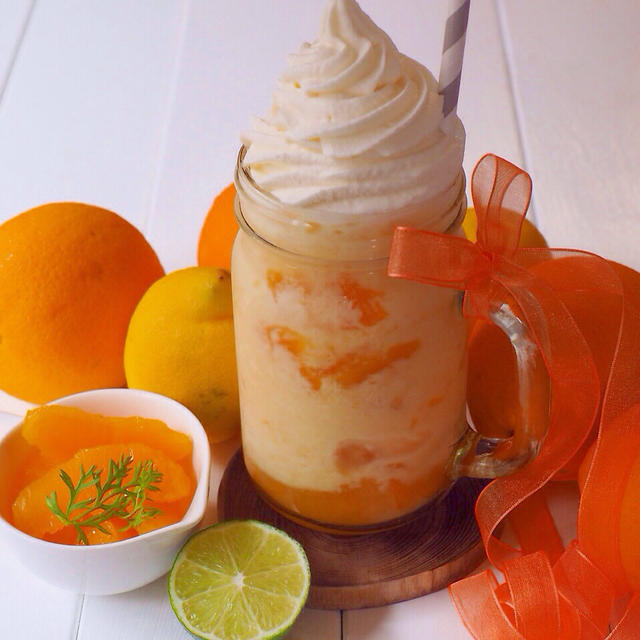 クラッシュオレンジ・フラペチーノ