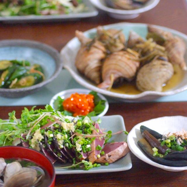 北海道のおいしいツブを柔らかく〜♪2種食べ比べ