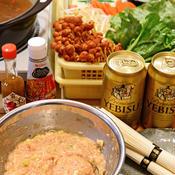 ガパオ風味の肉団子鍋