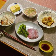生姜と鯵の干物ごはんと6/26の帰宅ラン(2.5km)