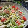 鶏胸肉のジャンブルサラダ&濃厚ガラムマサラドレ
