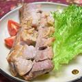 スペアリブのハニーマスタード焼き。味付け保存で忙しい時にも簡単メイン。