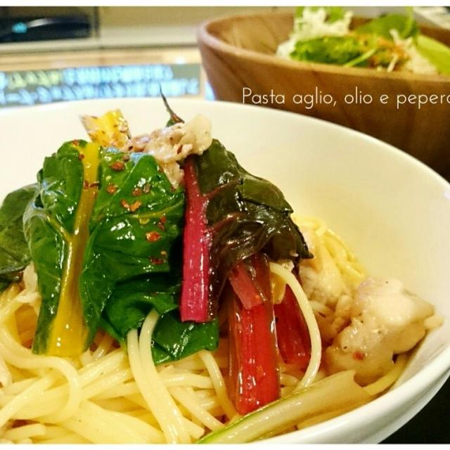 【Recipe:豚ばらペペロンチーノ】忙しい日のお助けメニュー
