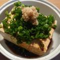 雪が谷大塚・あらいや豆腐店の木綿豆腐で冷奴を食らう。