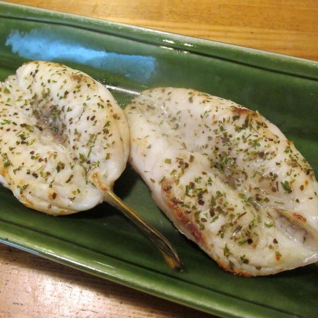 【旨魚料理】フグの開き(ハーブソルト)
