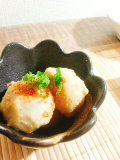 レシピ☆里芋の胡麻味噌煮