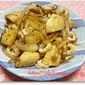 ジャガイモと竹輪の炒め物:気持ちはリヨネーズ