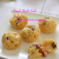 金時豆の米粉蒸しパン♪米油使用&卵不使用