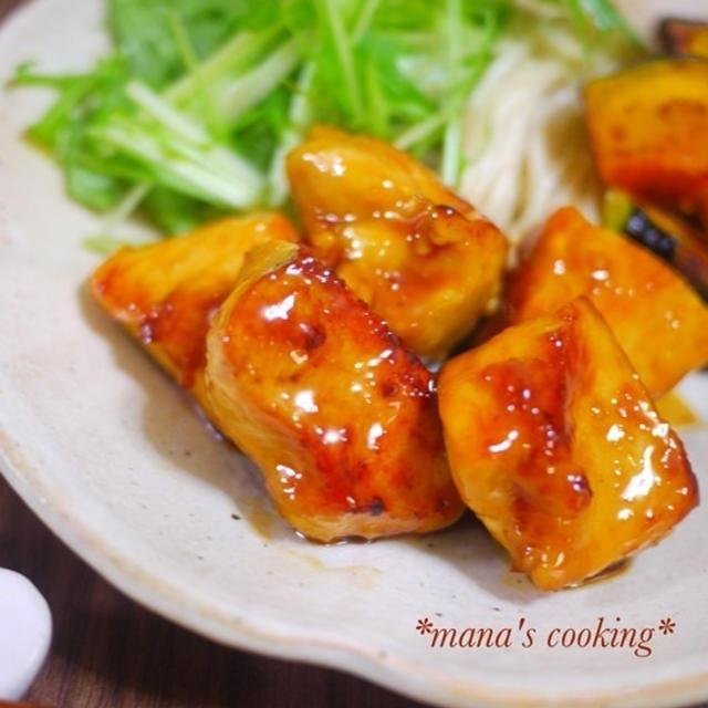 レシピ*鶏むね肉のしっとり甘辛照り焼き*