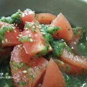 トマトの緑酢和え