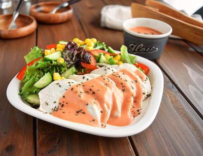 【作りおきレシピ】サラダチキン&サウザンアイランドドレッシング#レンジ#簡単