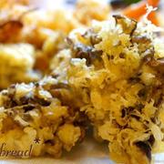 暑くても食べたい♪うまみ凝縮!「舞茸の天ぷら」レシピ