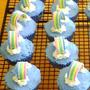 ⋒虹の架け橋⋒ カップケーキ~♫