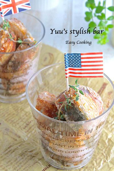 もっとお魚を食卓に♡フライパンで楽々♪カツオのタタキ de ピリ辛竜田揚げ《簡単★節約★魚》