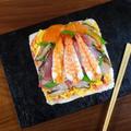 海鮮てんこ盛りのSNS映え♪ 超簡単!ひなデコちらし寿司