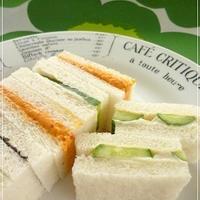 ★春きゅうりのサンドイッチ(レシピブログモニター)