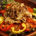 ファミレスの人気サラダ、「肉サラダ」を簡単に作る!