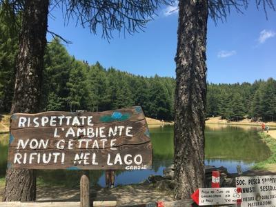"""Lago della Ninfa ニンファ湖"" 初級トレッキング"