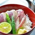 戻り鰹のたたき丼 by Marikoさん
