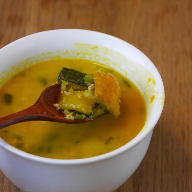超簡単!かぼちゃのポタージュ風スープの作り方