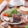 【おもてなし】漬けて焼くだけ♡豚肩ロースのバルサミコ酢グリル焼き~ローズマリー風味~