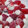 クリスマス!いちごのショートケーキ♪