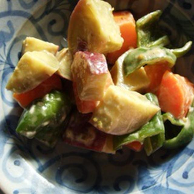 スイートポテトサラダ