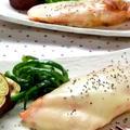 鮭のガーリックチーズ焼き☆