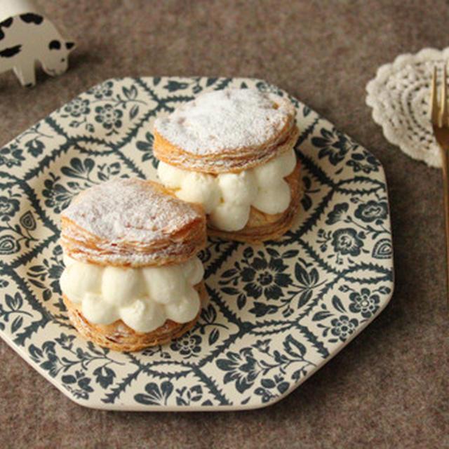 冷凍パイシートで簡単!とろ~り濃厚チーズクリームパイ