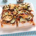 ツナとなすのはんぺんピザ【簡単ダイエットピッツァ】|レシピ・作り方