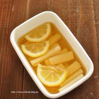 ≪レシピ≫長芋のレモン酢漬けと、過去に戻れるのなら