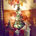 クリスマスパーティーの準備中!ブッフェスタイルにしてみました(*^^*)