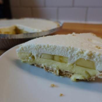 ホワイトチョコレート・バナナクリームパイ